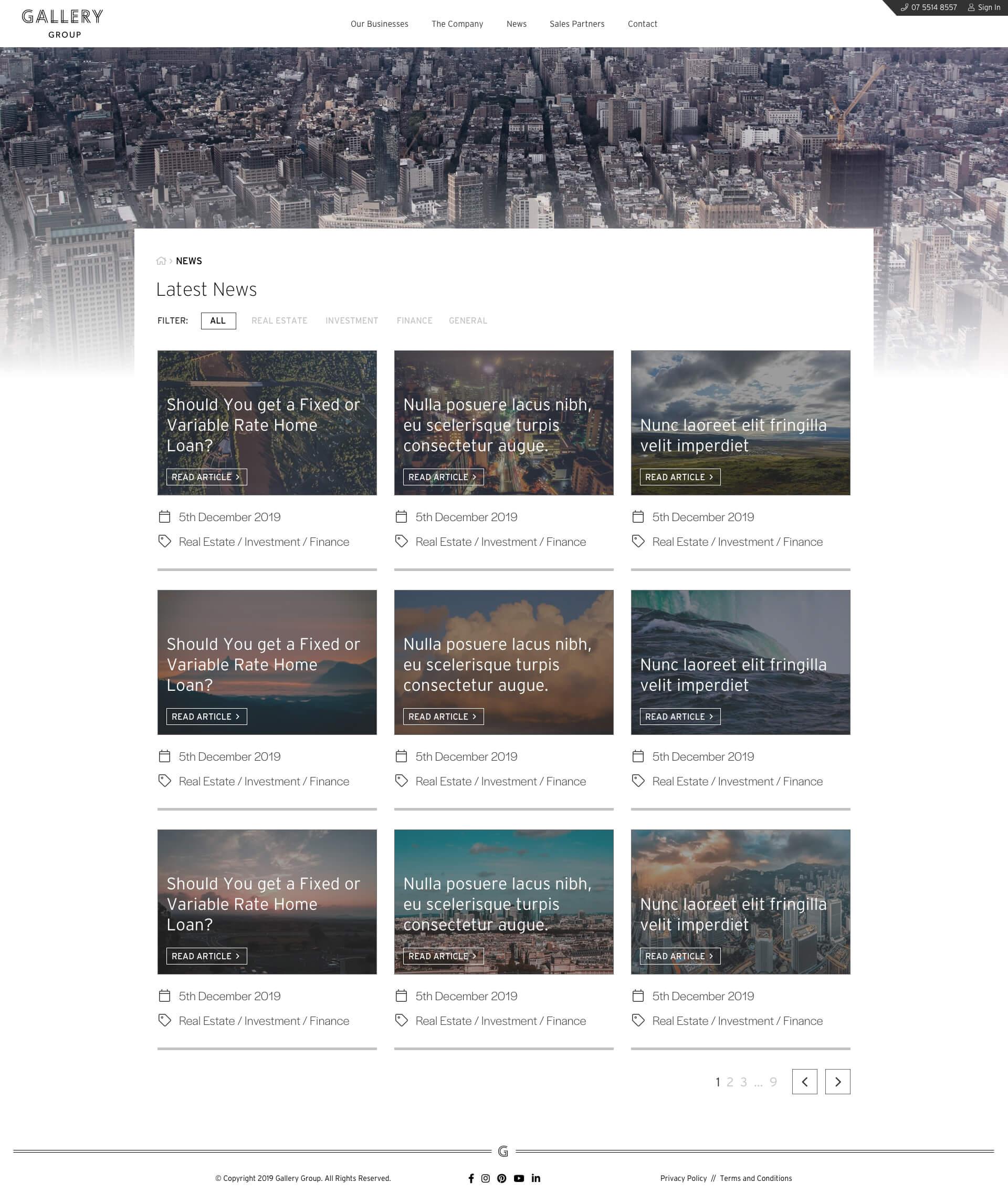 Gallery Group - Gallery Homes - Blog (Desktop)